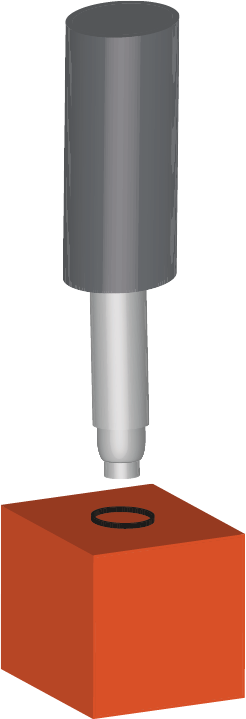 Image of the Boring tool used as part of the converting process