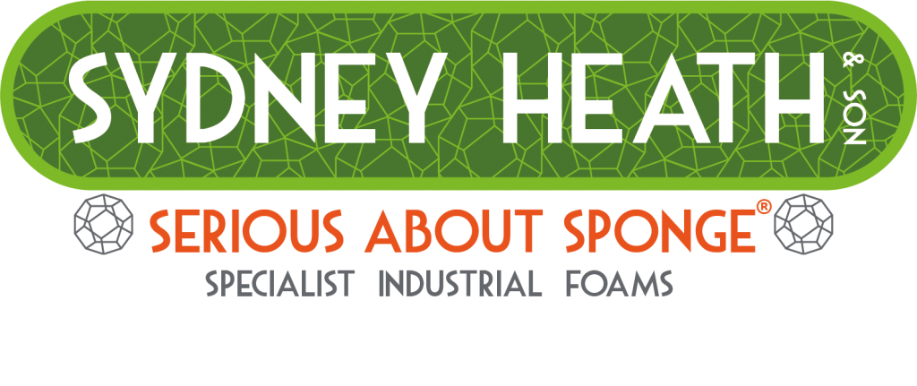 Sydney Heath and Son logo - Serious about sponge specialist industrial foams
