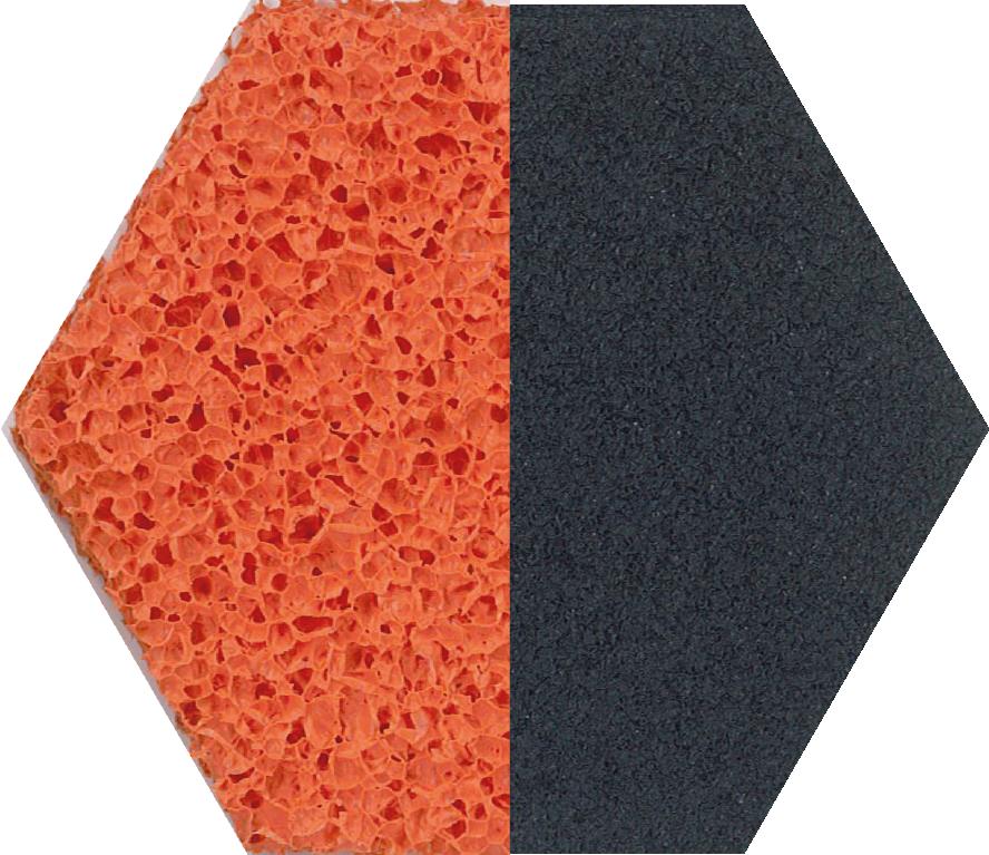 Natural sponge rubber