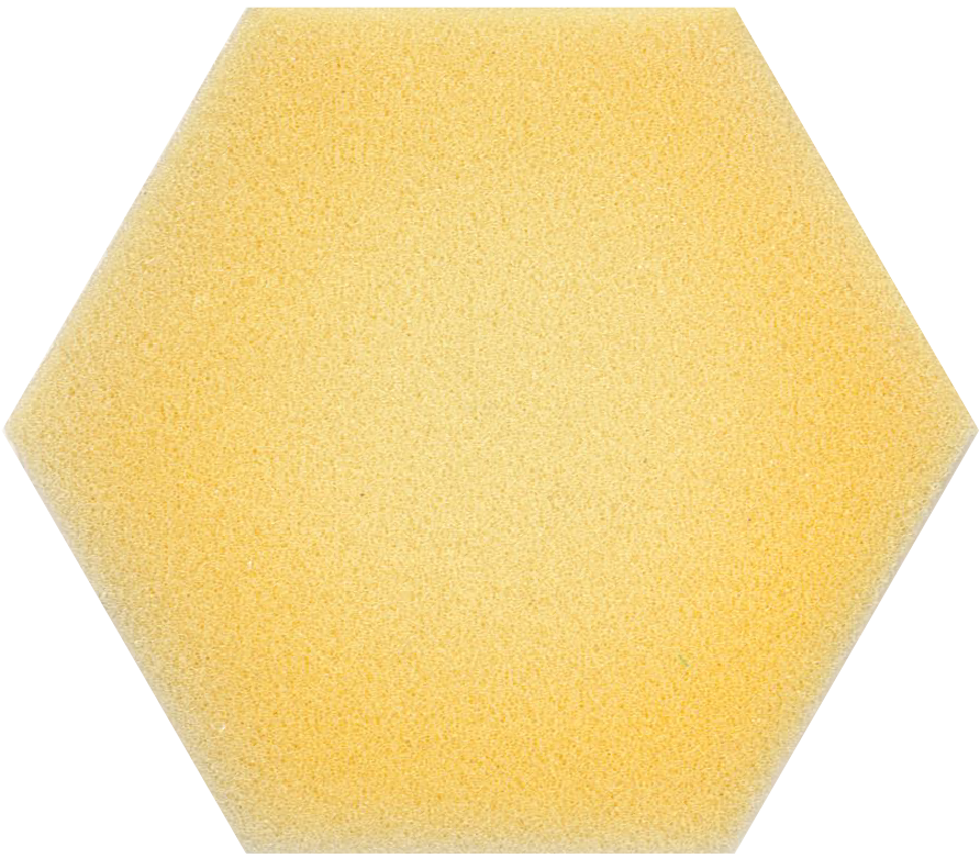 Polyether 22 den yellow foam