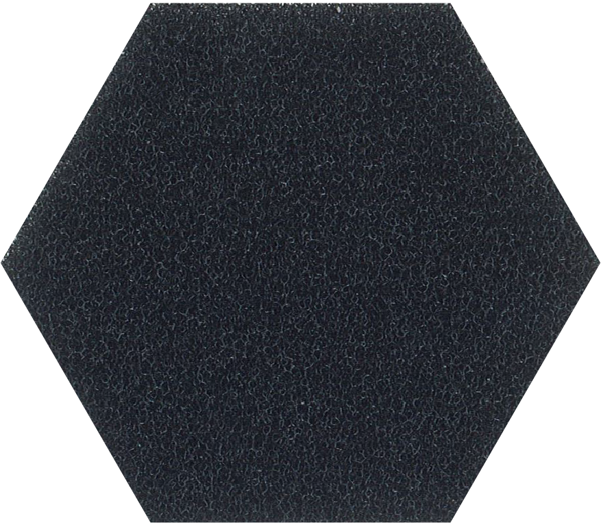 30ppi black reticulated foam