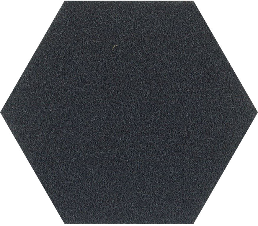 black 45ppi reticulated foam