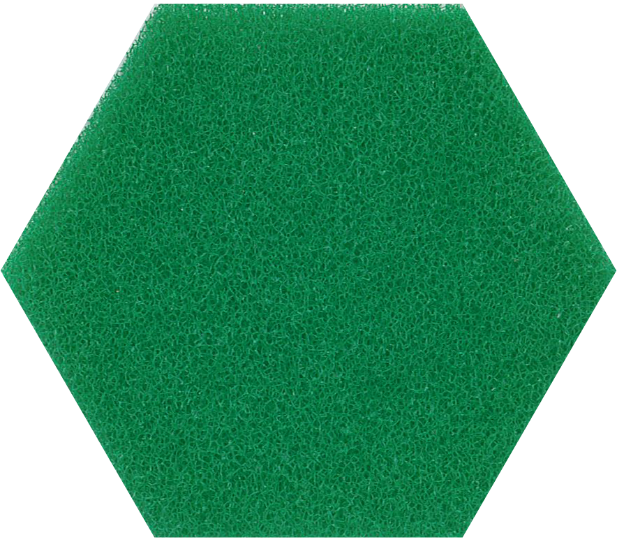 45ppi green reticulated polyether foam